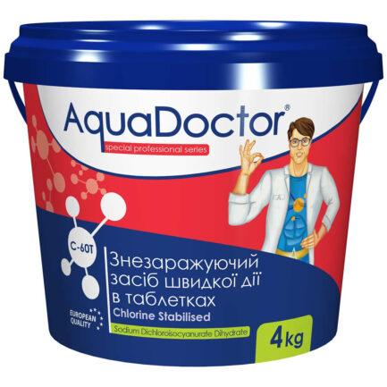 AquaDoctor C-60T хлор-шок в таблетках